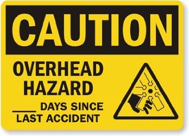 "Mine could read - ""Caution -  Hysterical Crying Hazard: 0 Days Since Last Incident"